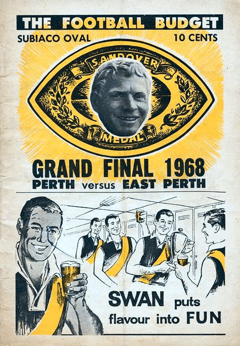 Cover 1968 Grand Final