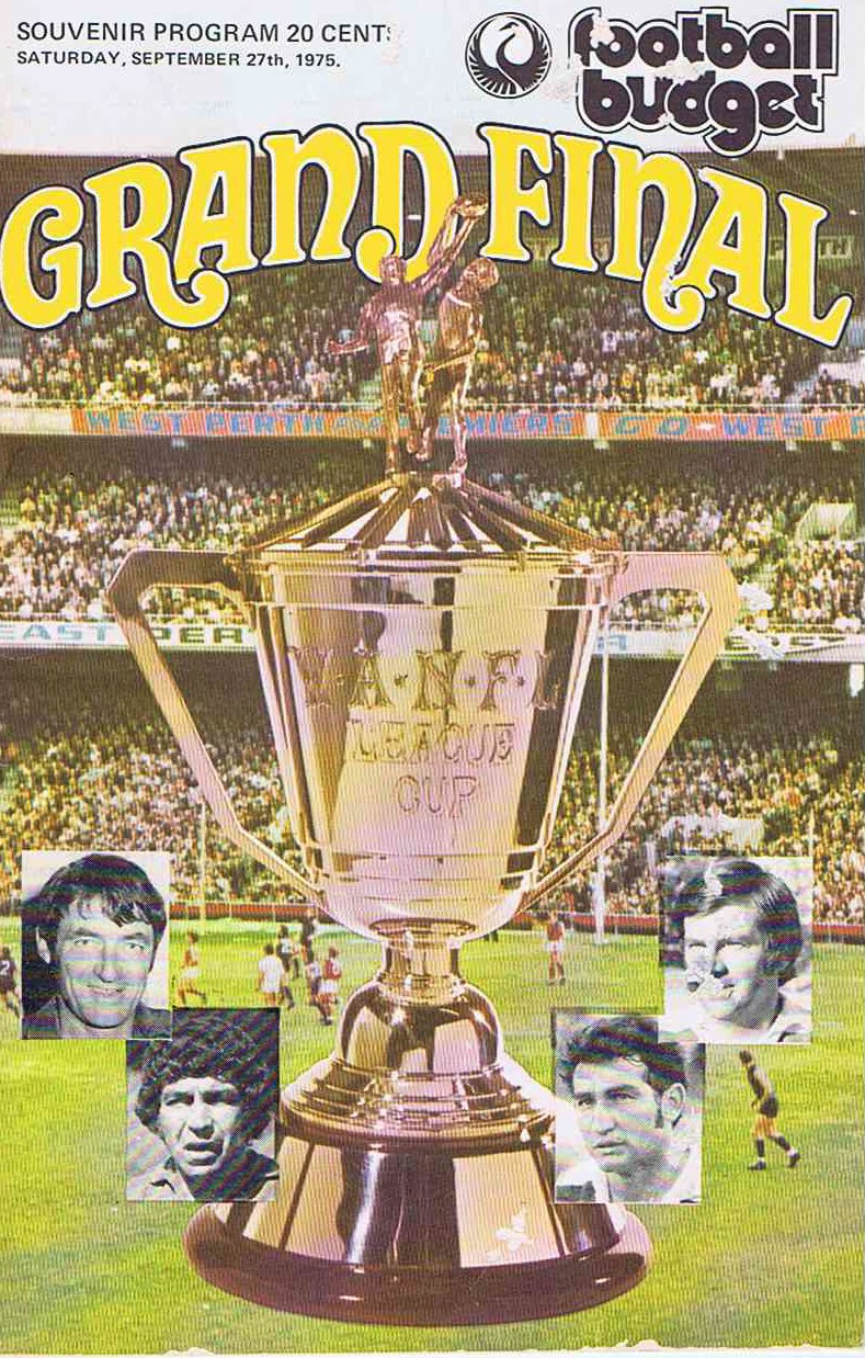 Cover 1975 Fooball Budget GF