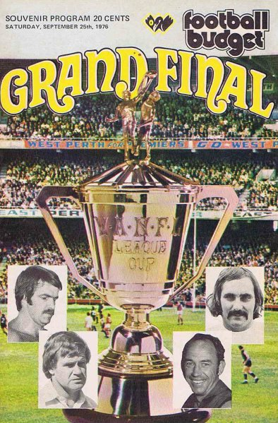Cover FB 1976 Grand Final